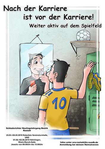 Schiedsrichterneulingslehrgang Bezirk Rastatt