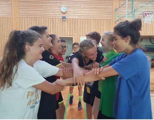 Badisch-Elsässisches Handball-Jugendcamp 2019 in Steinbach