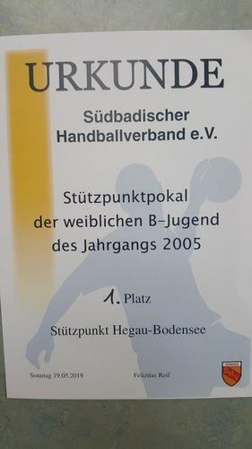 Stützpunktpokal B-Jugend weiblich 2019