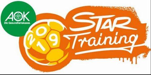 AOK Star-Training: Handball-Stars gehen wieder zur Schule!