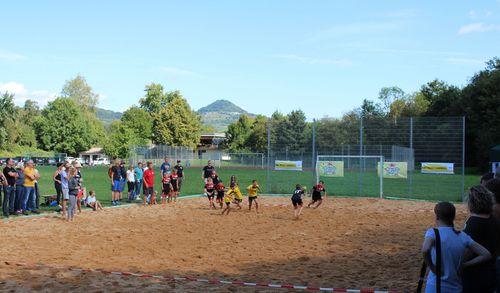 Erste HBW Mini Beach Handball Turnierserie  in Baden-Württemberg ein voller Erfolg