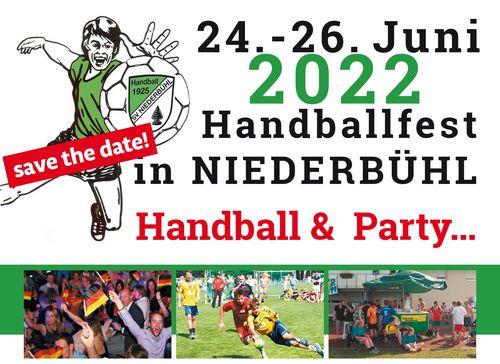 Terminankündigung: Handballfest des SV Niederbühl