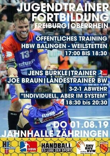 Jugendtrainer-Fortbildung im Bezirk Freiburg/Oberrhein